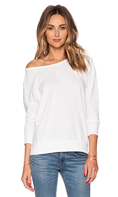 Velvet by Graham & Spencer Active Jess Top in White