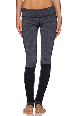 Vimmia Stirrup Legging in Static Stripe