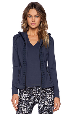 Vimmia Hoode Pleat Jacket in Night