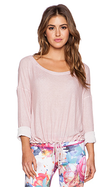 Vimmia Aura Drawstring Pullover in Peony