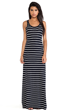 Vince Striped Maxi Dress in Coastal/Sailcloth