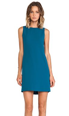 Vince Sleeveless Classic Dress in Petroleum