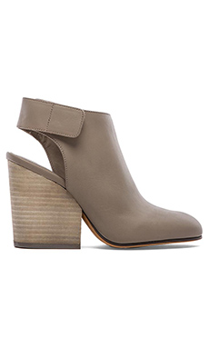 Vince Ingrid Bootie in Wood Smoke