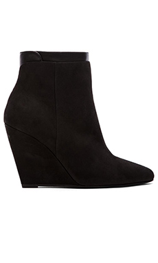 Vince Ludlow Wedge Bootie in Black