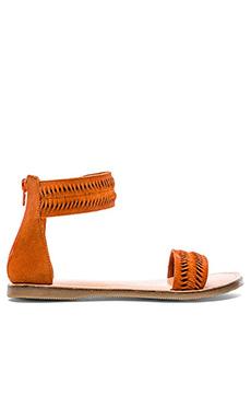 Vis-a-Vis x Rebels Tina Sandal in Orange