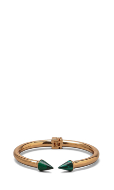 Vita Fede Mini Titan Stone Bracelet in Rosegold/Malachite