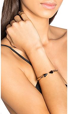 Vita Fede Mini Titan Stone Bracelet in Rosegold/Onyx