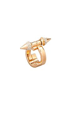 Vita Fede Babylon Ring in Rosegold/Clear
