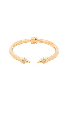 Vita Fede Mini Titan Crystal Bracelet in Gold/Clear
