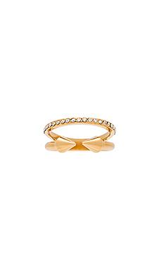 Vita Fede Ultra Mini Titan with Band Ring in Gold