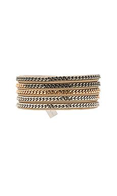 Vita Fede Capri 5 Wrap Bracelet in Multi/Nude