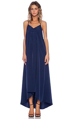 VIVIAN CHAN Caroline Maxi Dress in Navy