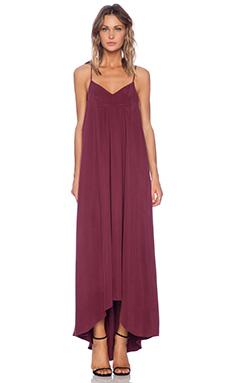 VIVIAN CHAN Caroline Maxi Dress in Wine