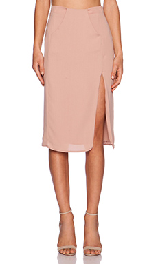 VIVIAN CHAN Polina Skirt in Dusty Rose
