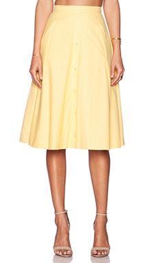 VIVIAN CHAN Sioban Skirt in Daffodil