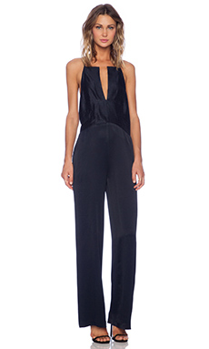 VIVIAN CHAN Theresa Jumpsuit in Navy