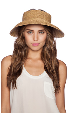 Vix Swimwear Visor in Jute