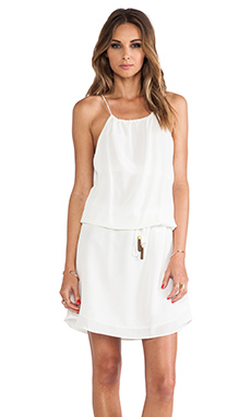 Vix Swimwear Gilda Short Dress in Solid White