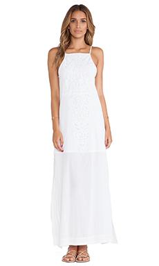 Vix Swimwear Teca Long Dress in Solid White