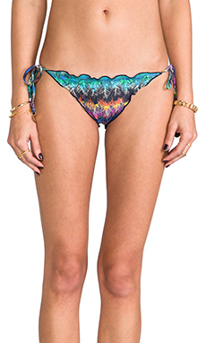 Sofia by Vix Swimwear Ripple Tie Bottom in Pisac