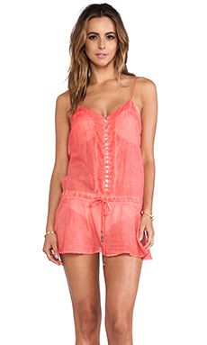 Sofia by Vix Swimwear Joy Dress in Solid Peach