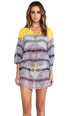 Vix Swimwear Iaia Amy Caftan in Yellow