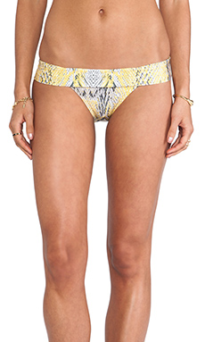 Vix Swimwear Ruda California Cut Bottom in Yellow