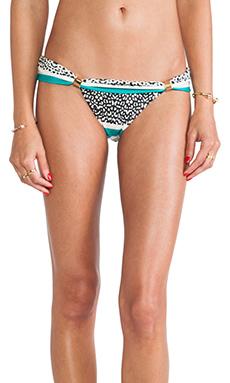 Vix Swimwear Sawi Bia Tube Bottom in Aqua