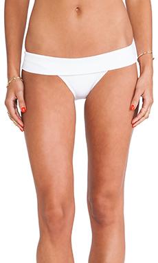 Vix Swimwear California Cut Bottom in Solid White