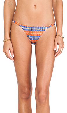 Vix Swimwear New String Bikini Bottom in Jaspe