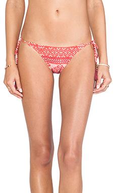Sofia by Vix Swimwear Kilim Tie Side Bottom in Multi