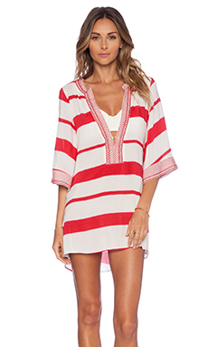Vix Swimwear Helen Tunic in Desert Ripple
