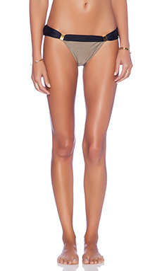 Vix Swimwear Betsey Bia Tube Bikini Bottom in Shitake