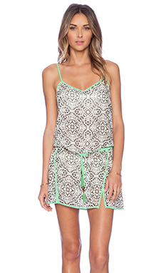 SOFIA by Vix Swimwear Lia Short Dress in Vlad