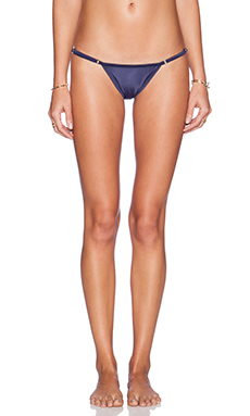 SOFIA by Vix Swimwear String Bottom in Solid Navy
