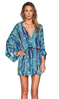 Vix Swimwear Kimono in Stone