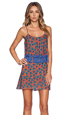 Sofia by Vix Swimwear Ruffle Back Short Dress in Iva