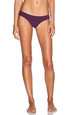 SOFIA by Vix Swimwear Buzios Bikini Bottom in Solid Berry