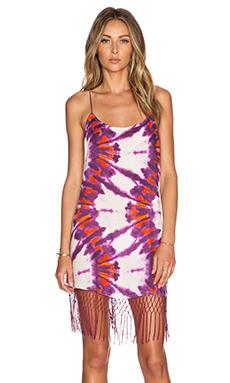 SOFIA by Vix Swimwear Net Fringe Dress in Lyon
