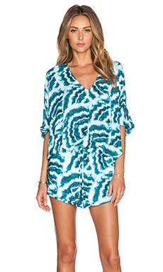 Vix Swimwear Kay Mini Dress in Shell