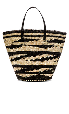 Vix Swimwear Sisal Bag in Straw