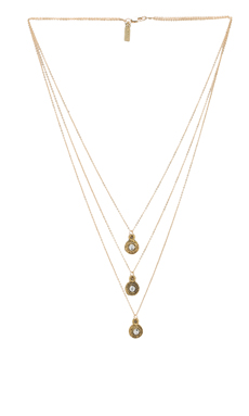 Vanessa Mooney Easy Rider Necklace in Gold