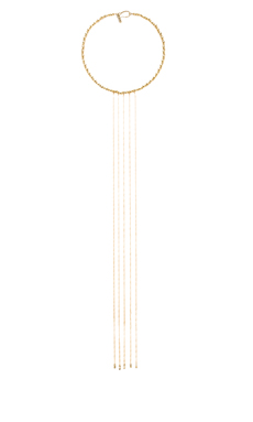 Vanessa Mooney Le Revolution Necklace in Gold