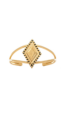 Vanessa Mooney The Fates Cuff in Gold
