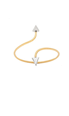 Vanessa Mooney The Starlight Cuff in Gold