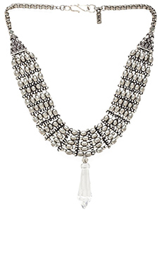 Vanessa Mooney The Saints Statement Necklace in Silver