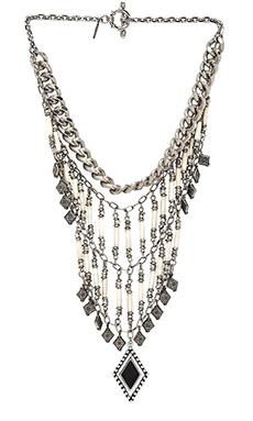 Vanessa Mooney The Midnight Statement Necklace in Silver
