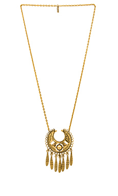 Vanessa Mooney The Sage Necklace in Gold