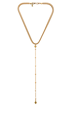 Vanessa Mooney The Lola Necklace in Gold