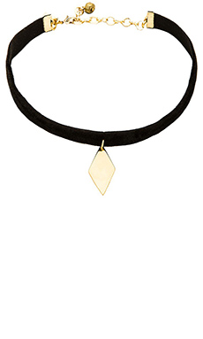 Vanessa Mooney The Lily Choker in Black